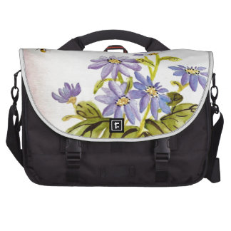 Bees and Flowers Laptop Commuter Bag