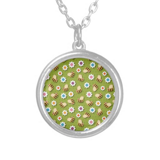 Bees and Flowers Necklaces