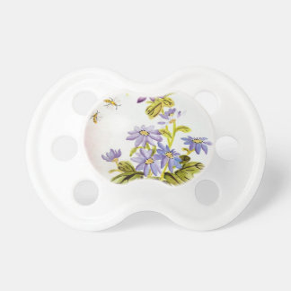 Bees and Flowers Pacifier