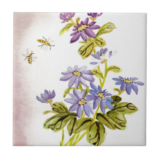 Bees and Flowers Tiles