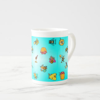 Bees and Honey Tea Cup
