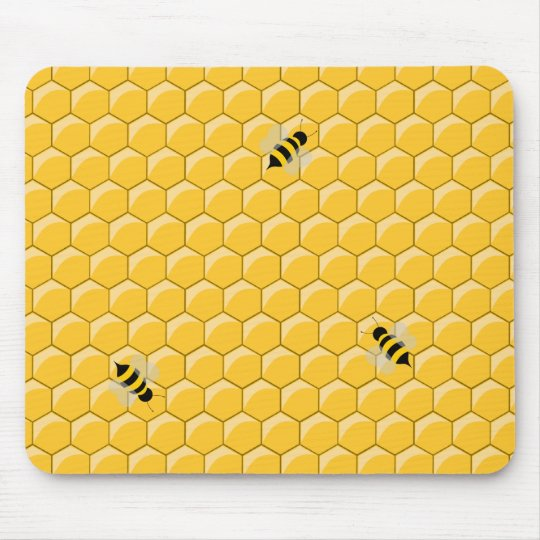 Bees And Honeycomb mousepad