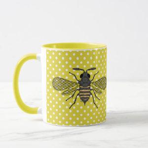 BEES and Honeycomb - Save The Bees Mug