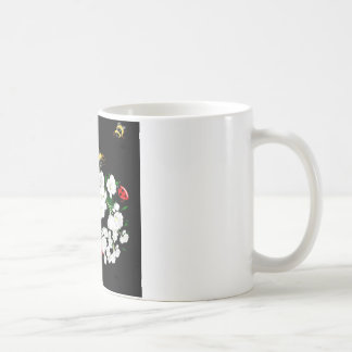 BEES and Ladybugs nature art Coffee Mugs