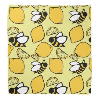 Bees and Lemons for Lemonade Bandana