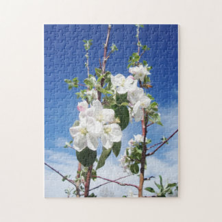 Bee's & Apple Blossoms Jigsaw Puzzle