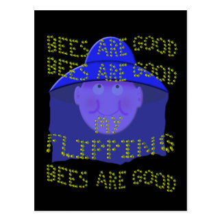 bees are good postcard
