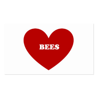 bees business cards