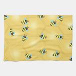 Bees Buzzing Towels