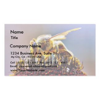 Bees Collecting Pollen Business Cards