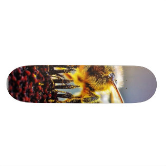 Bees Collecting Pollen Skate Board Deck