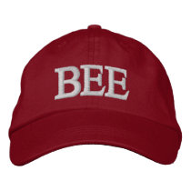 BEES EMBROIDERED BASEBALL CAP