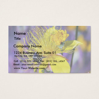 Bees Flowers Business Card