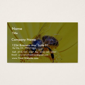 Bees Flowers Insects Business Card