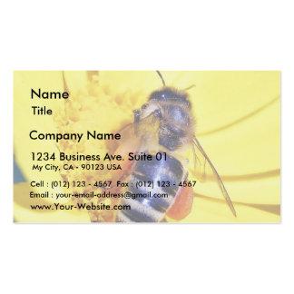 Bees Flowers Pollen Business Card