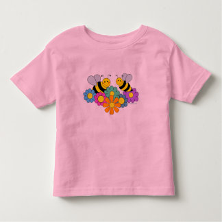 Bees & Flowers Toddler T-shirt