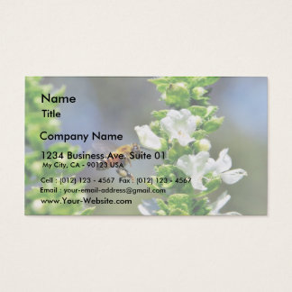 Bees Fying Flight Wings Business Card