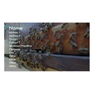 Bees Getting In Their Hive Business Card