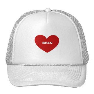 bees mesh hat
