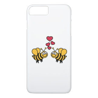 Bees hearts love iPhone 8 plus/7 plus case