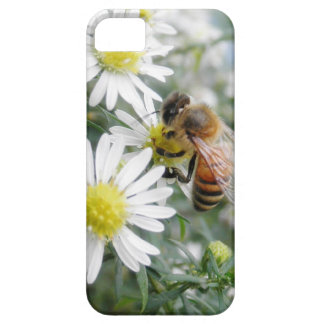 Bees Honey Bee Wildflowers Flowers Daisies Photo iPhone SE/5/5s Case
