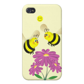 Bees in Love IPhone 4G Speck Case