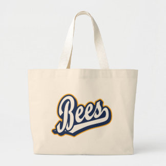 Bees in White Orange and Blue Bags