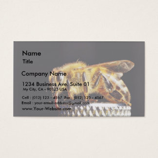 Bees Insects Marco Business Card