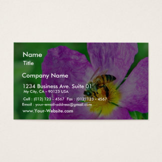 Bees Insects Pollen Business Card