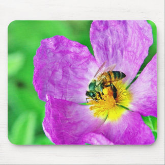 Bees Insects Pollen Mousepad