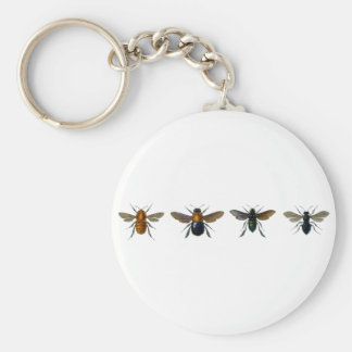 Bees Key Chain