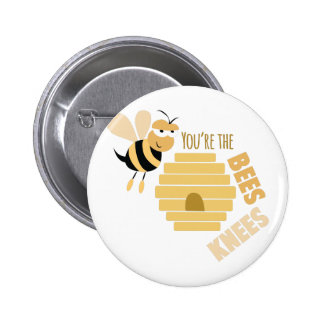 Bees Knees Button