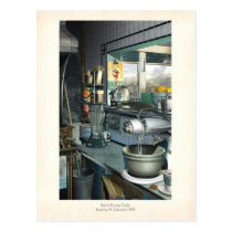 Bees Knees Cafe Postcard