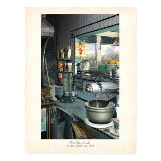 Bees Knees Cafe Postcard