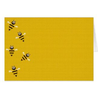 Bees knees card