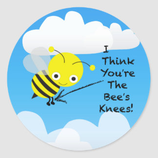 Bee's Knees Stickers / Envelope Seals