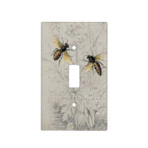 Bees Light Switch Cover