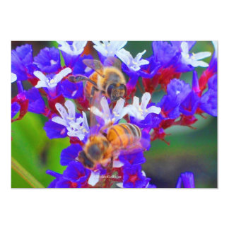 Bees, Love & Bliss Card