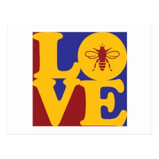Bees Love Postcard