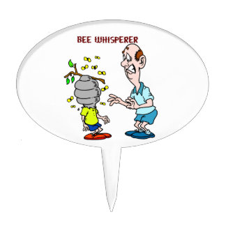 Bees Lovers Bee Whisperer Bumblebee Cake Topper