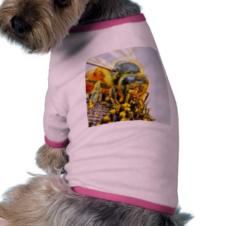 Bees Macro Pollen Insects Doggie T Shirt