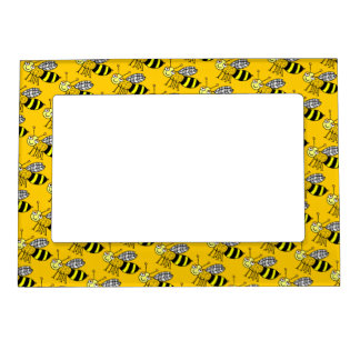 Bees Magnetic Picture Frame