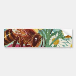 bees make honey bumper sticker