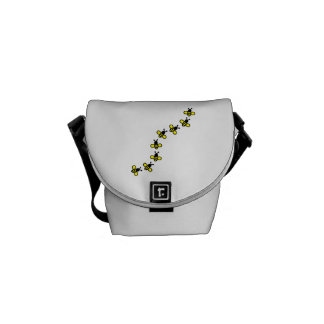 Bees Messenger Bag