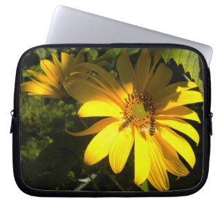 Bees n the Sunflower Laptop Sleeve