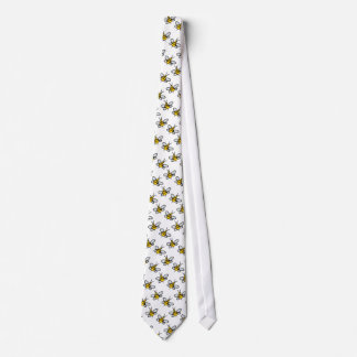 Bees Neck Tie