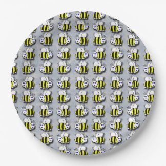 Bees Paper Plate
