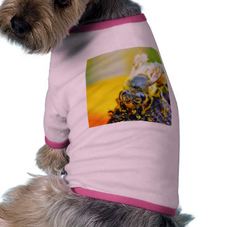 Bees Pollenating Insects Bugs Dog Tee