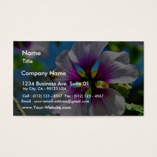 Bees Purple Flowers Business Card