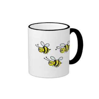 bees ringer mug